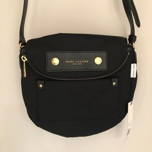 NWT Marc Jacobs Black Crossbody Bag